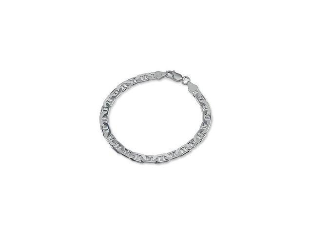 Men's Sterling Silver Gucci Marine Chain Bracelet 8