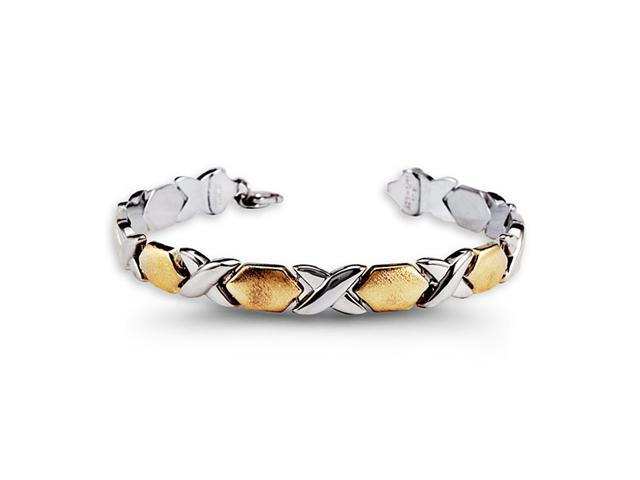 10k Yellow Gold .925 Sterling Silver Fashion Bracelet
