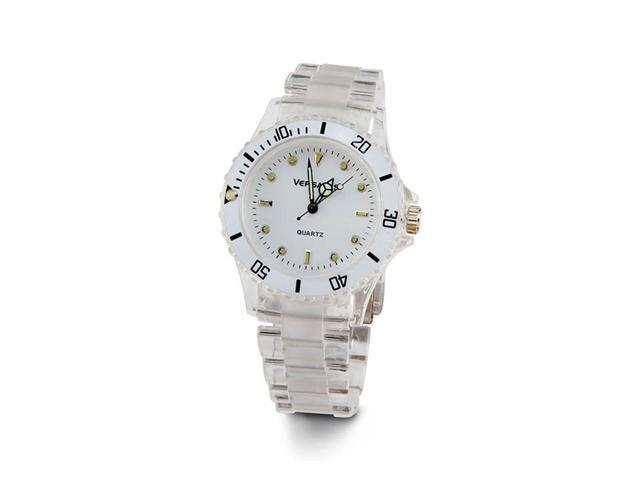 Ladies Green Gold Tone White Face New White Style Watch