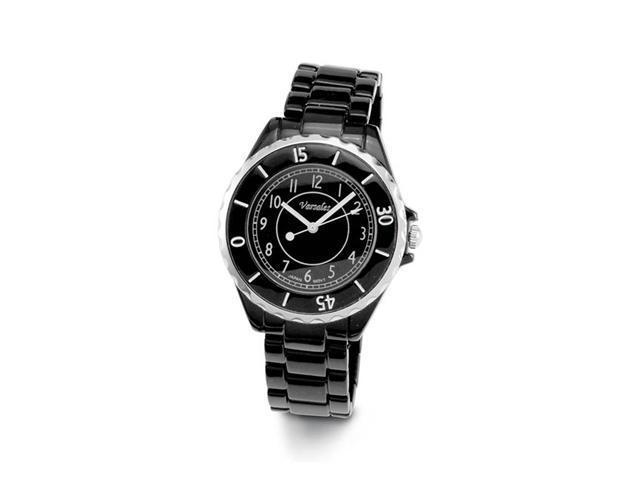 Mens Black Band Sporty Fashion Quartz Bracelet Watch