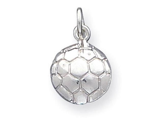 925 Sterling Silver Soccer Sports Ball Charm Pendant