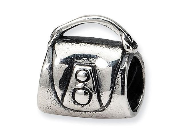 925 Sterling Silver Kids Handbag Purse Jewelry Bead