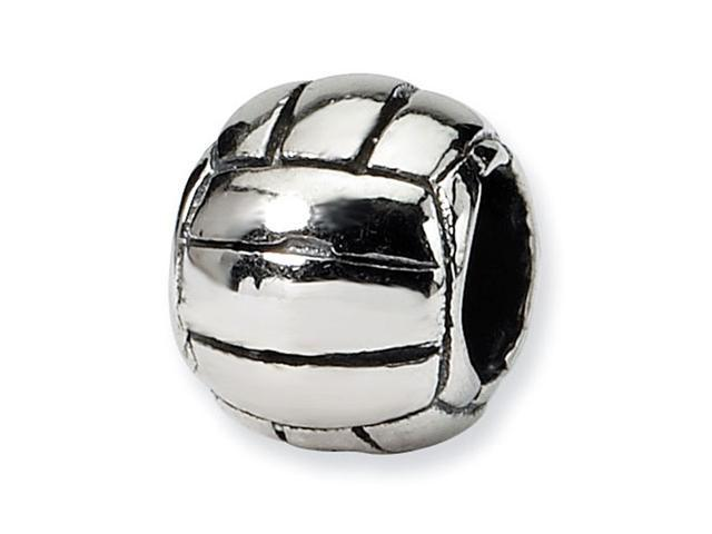 925 Sterling Silver Kids Soccer Ball Sports Charm Bead