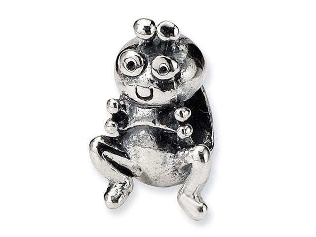 925 Sterling Silver Kids Grasshopper Charm Jewelry Bead