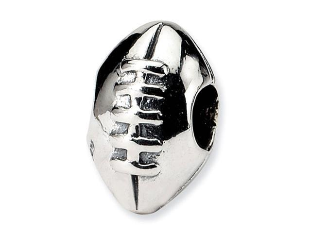 925 Sterling Silver Kids Football Sports Charm Bead
