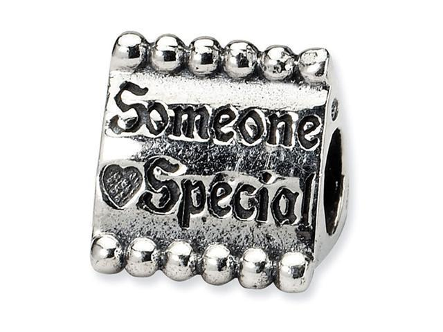 925 Sterling Silver Someone Special Heart Trilogy Bead
