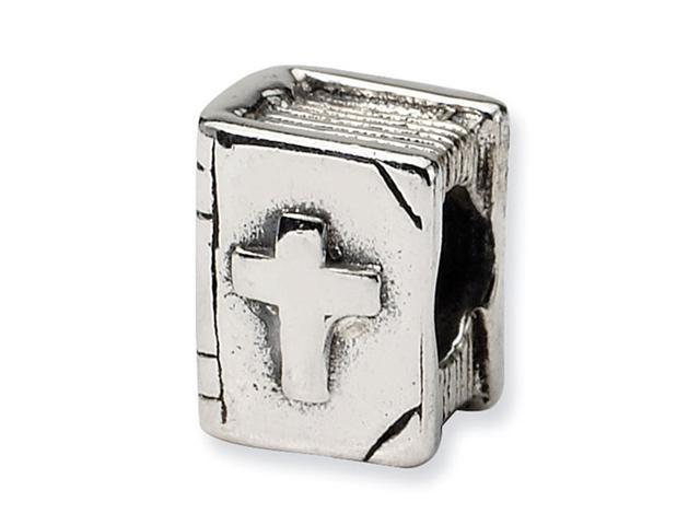 925 Sterling Silver Kids Bible Religious Charm Bead