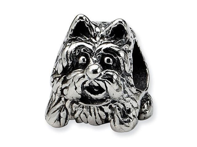 925 Sterling Silver Scottish Terrier Dog Jewelry Bead