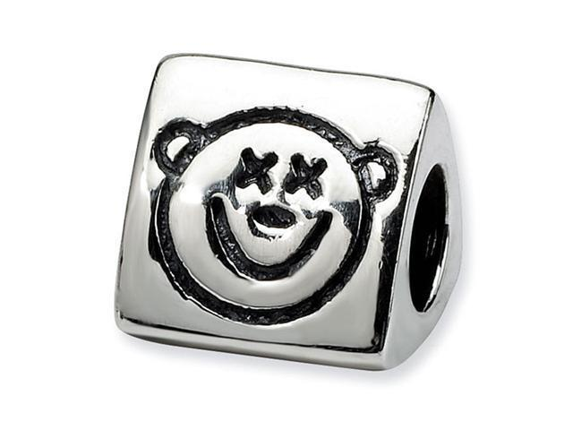 925 Silver Wise Monkey Speak Hear See No Evil Bead