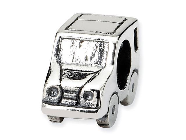 925 Sterling Silver Car Truck Transportation Charm Bead