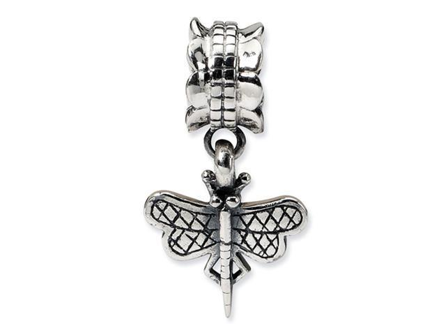 925 Sterling Silver Charm Dragonfly Dangle Jewelry Bead