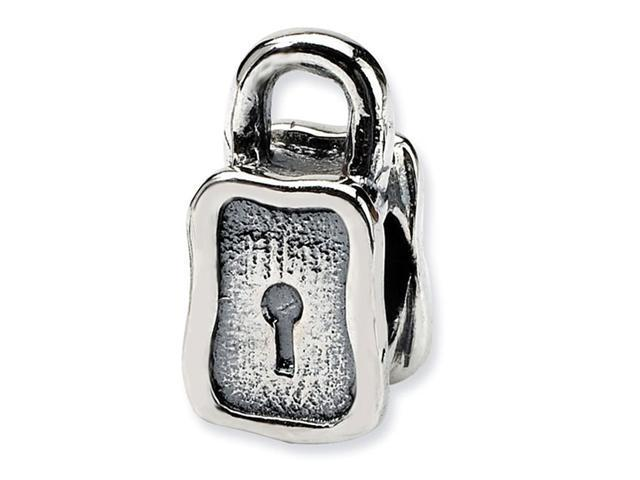 925 Sterling Silver Charm Padlock Trilogy Jewelry Bead