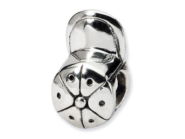 925 Sterling Silver Baseball Cap Hat Charm Jewelry Bead