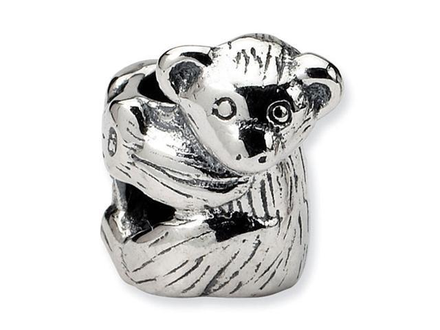 925 Sterling Silver Baby Cub Bear Charm Jewelry Bead