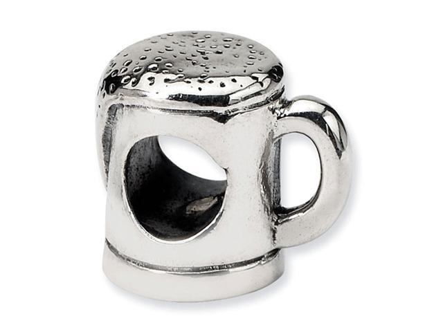 925 Sterling Silver Charm Beer Mug Trilogy Jewelry Bead
