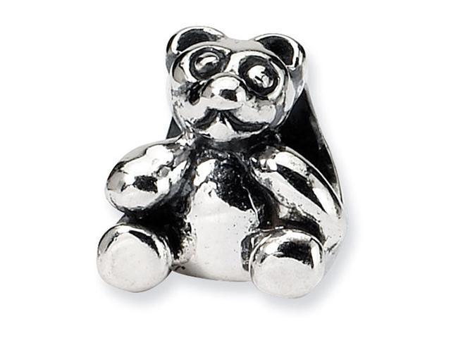925 Sterling Silver Kids Teddy Bear Charm Jewelry Bead