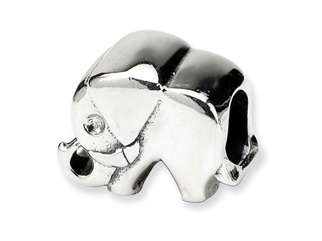 925 Sterling Silver Kids Charm Animal Elephant Bead
