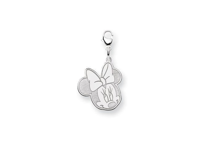 Solid .925 Sterling Silver 5/8 Inch Minnie Mouse Charms