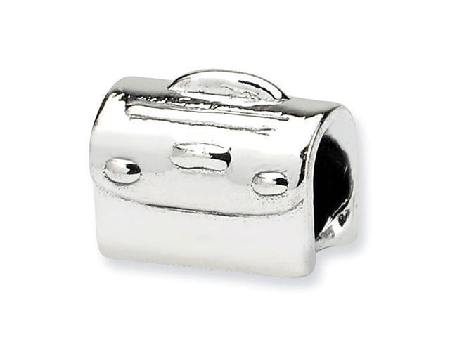 925 Sterling Silver Kids Handbag Satchel Charm Bead