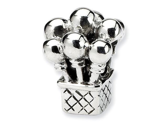 925 Sterling Silver Kids Charm Balloons Jewelry Bead