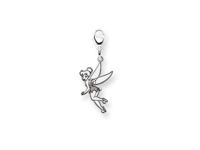 .925 Sterling Silver Classic Flying Tinkerbell Charm