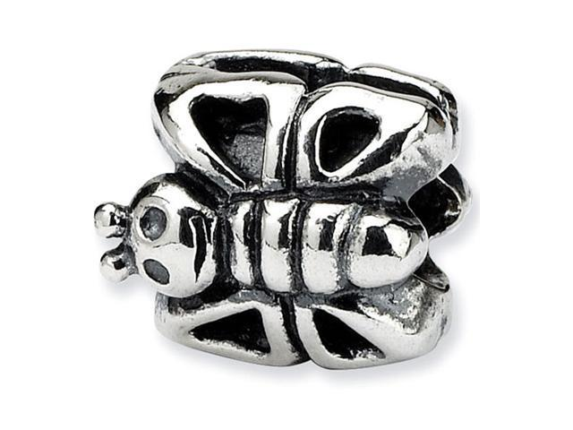 925 Sterling Silver Charm Kids Butterfly Jewelry Bead