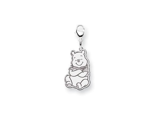 .925 Sterling Silver 1/2 Inch Disney Winnie Pooh Charm