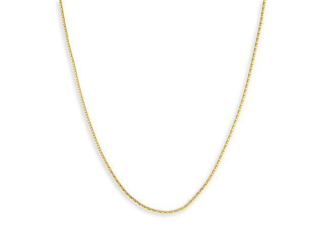 Women's 14k Yellow Gold Coreanna Chain Necklace 1.2mm