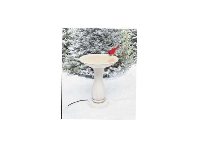 Birds Choice API Heated Birdbath with Pedestal