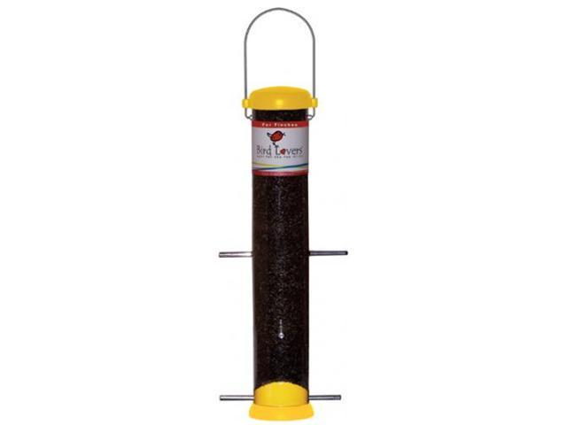 Droll Yankees Bird Lovers 15 inch Yellow Finch Feeder