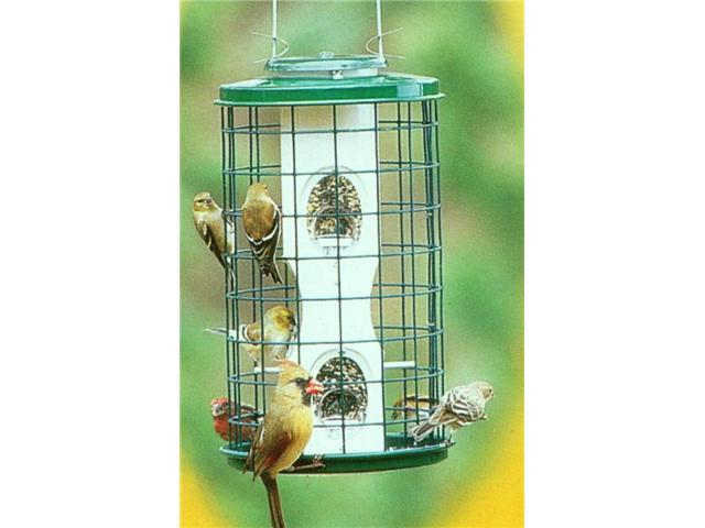 Varicraft 2qt Wild Bird Mixed Seed Feeder with Cage