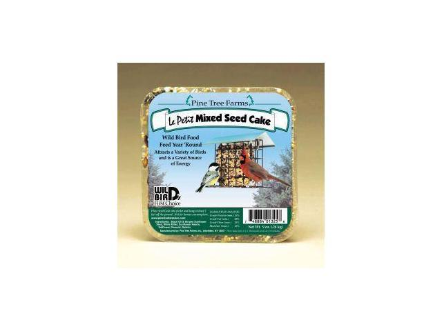 Pine Tree Farms 9 Ounce LePetit  Mixed Seed Cake