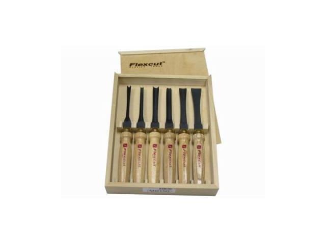 Flexcut 6 pc Mallet Tool Set
