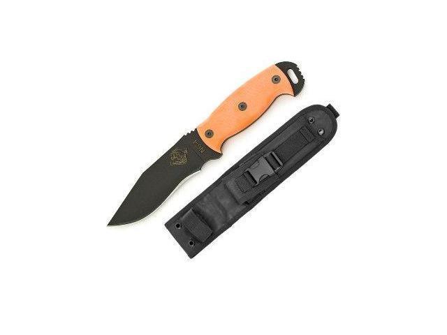 Ontario Knife Company Night Stalker 4 w/Orange G10 Handle