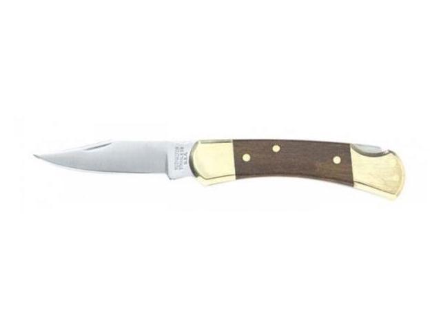 Kutmaster Traditional Hunter Series Single Blade Lockback Knife