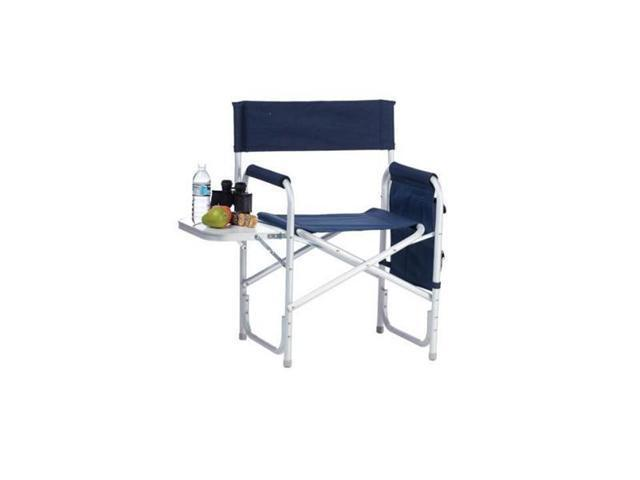 Picnic Plus Directors Sport Chair with Folding Side Table & Side Panel Pock