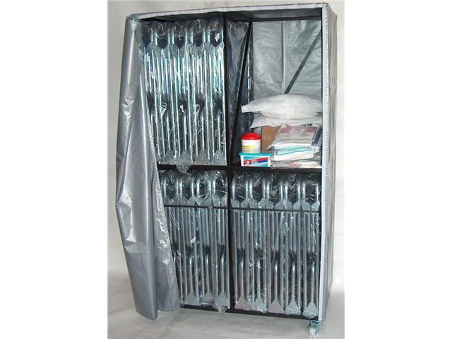 Cot 2 Level Bed Cart with 20 XB-1 Folding Beds