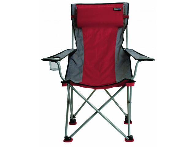 Travel Chair Red Bubba Folding Outdoor Chair (300 pound capacity)