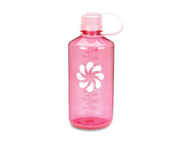 Nalgene Tritan Narrow Mouth Bottle, 1 Qt Pink