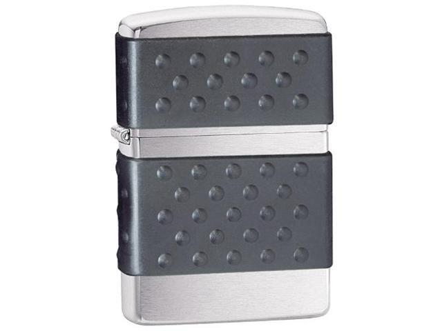 Zippo Black Zip Guard Lighter  200Zp