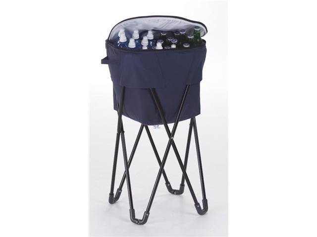 Picnic Plus Insulated Tub Cooler with Stand - Navy