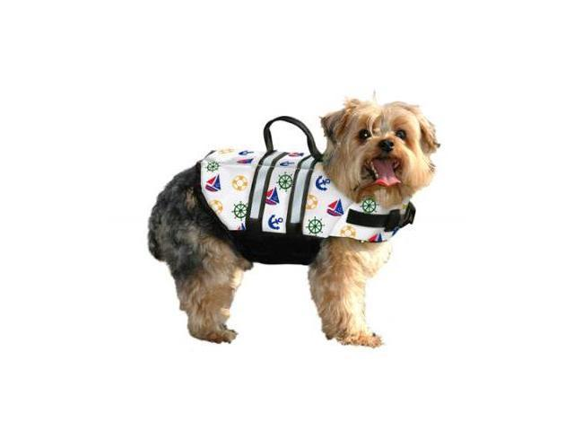 Paws Aboard PA-N1400 Nautical Dog Life Jacket