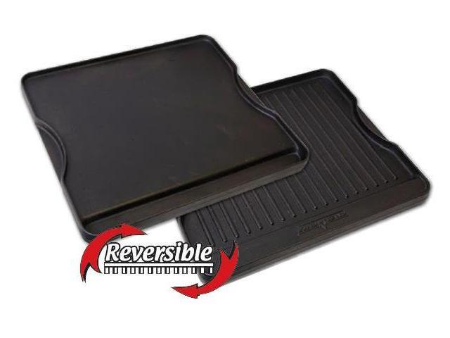 Camp Chef Reversible Pre-seasoned Cast Iron Griddle 16