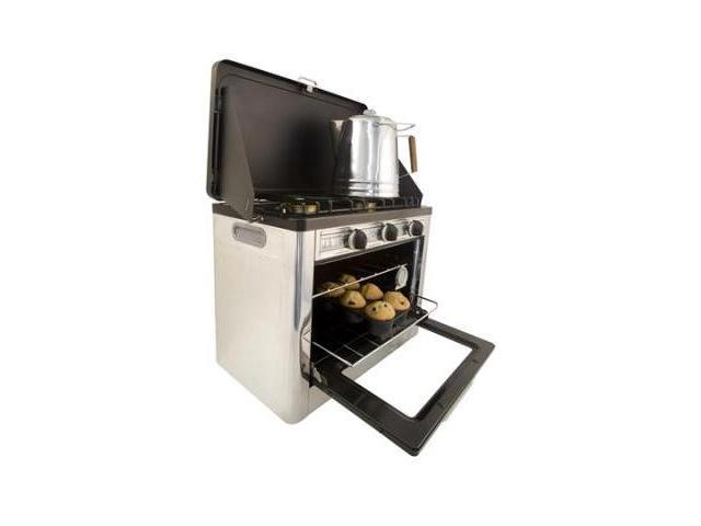 Camp Chef Outdoor Camp Oven 2 Burner Range and Stove