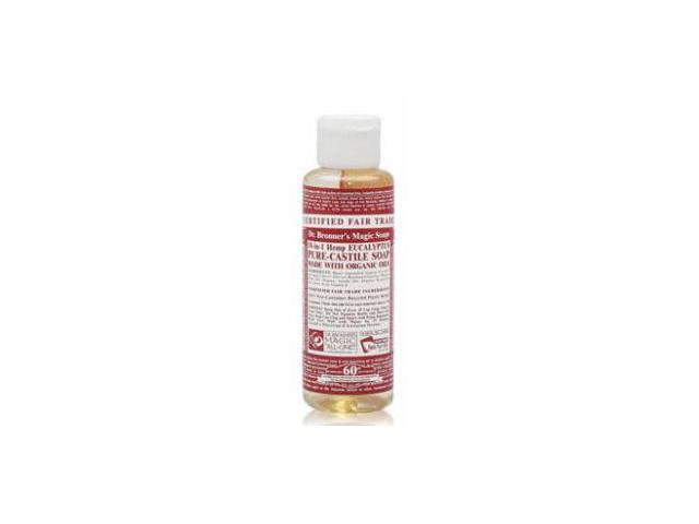 Dr. Bronner's Eucalyptus Liquid Soap, 4 Ounce