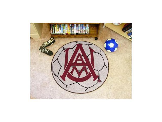 Alabama A&M Soccer Ball Rug - OEM