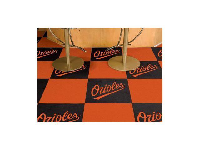 Baltimore Orioles Carpet Tiles