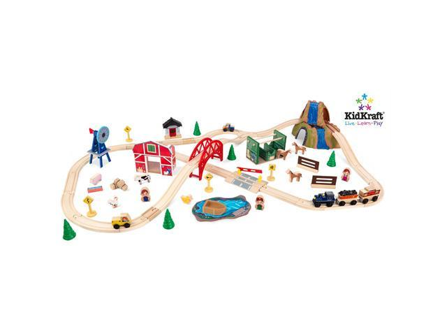 KidKraft Farm Train Set - 17827