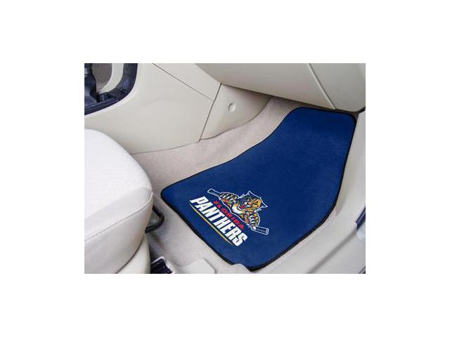 National Hockey League Florida Panthers  Printed Carpet Car Mats