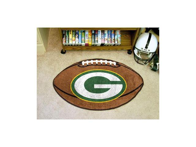 Green Bay Packers Football Rug